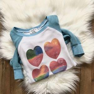 Wildfox Kids Heart Sweater